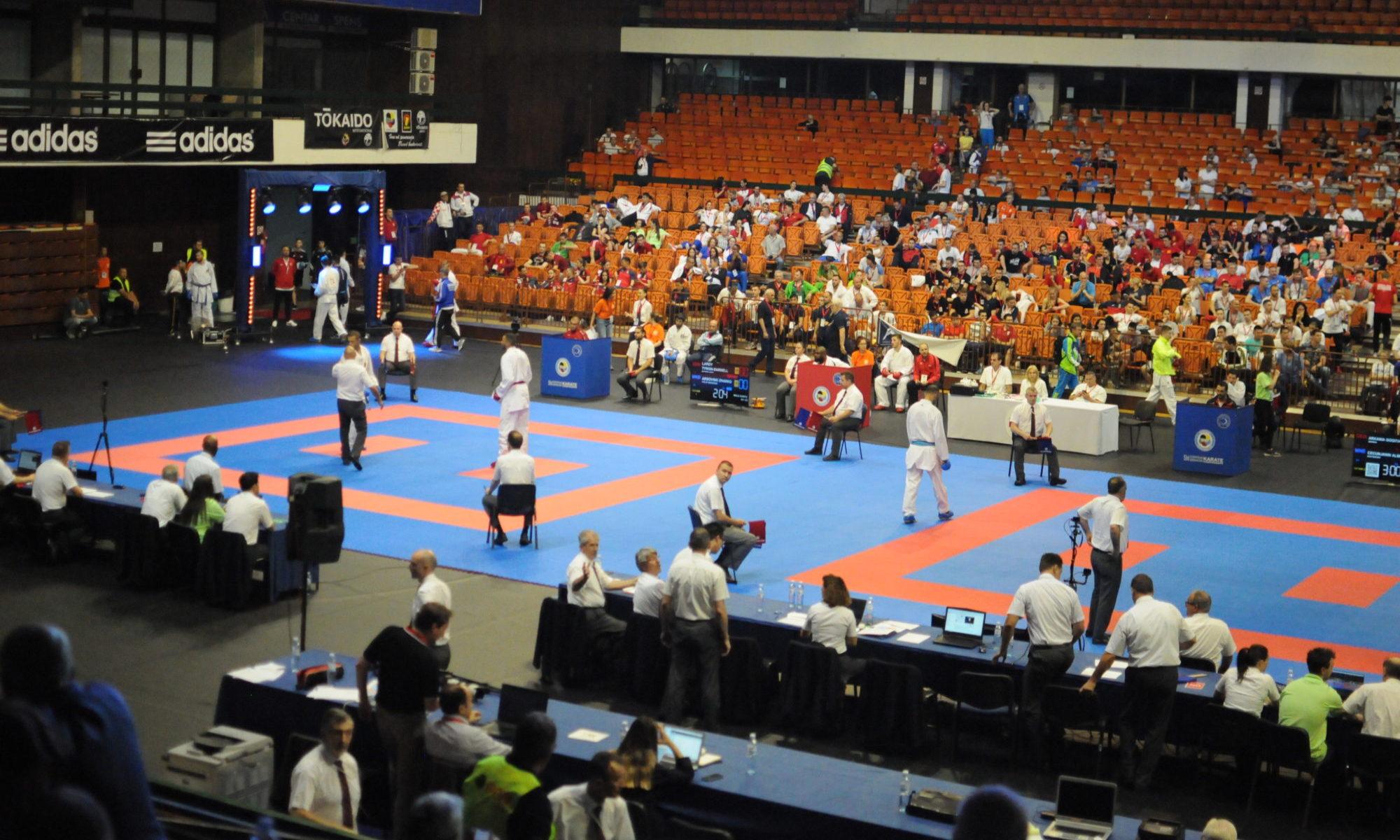 Registrace akcí karate